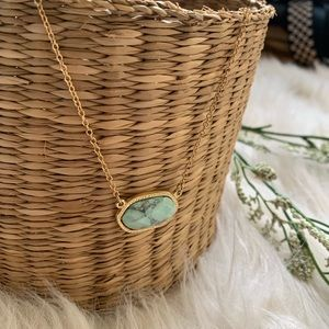 🔹Green and gold 🔹 necklace
